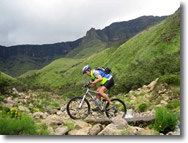 Mountain biking in lesotho